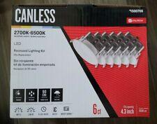 Utilitech Canless LED Recessed Lighting Kit ▪︎6ct▪︎1500766