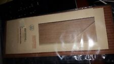 "HO 1/87 GCLaser - 108 Laser Cut 3-tab Shingles Brown 11132 NIP 84"" Coverage"