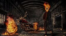 Ghost Rider Poster Length :800 mm Height: 500 mm SKU: 4132