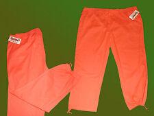 Damenhose Freizeithose Hose Baumwolle Übergröße Gr. 56 orange NEU