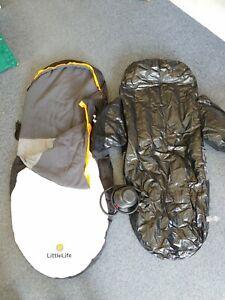 LittleLife Penguin Snuggle Pod Child's Sleeping Bag / Air Bed  R2