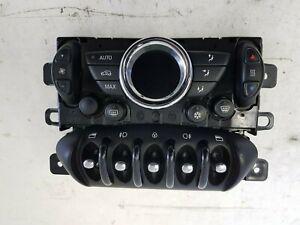 BMW MINI R55 R56 LCI BLACK CLIMATE / HEATER SWITCHES CONTROL PANEL 3456884