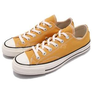 Converse First String Chuck Taylor All Star 1970s Yellow Men Women Shoes 162063C