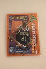 1995-96 Finest Rookie / Veteran von Kevin Garnett und Tom Gugliotta
