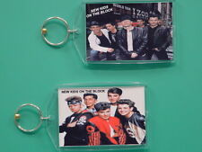 New Kids On The Block - with 2 Photos - Designer Collectible Gift Keychain