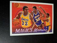 1991 Upper Deck Magic's Moment #29 Lakers Earvin Magic Johnson Art Card Insert