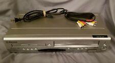 New listing Emerson Ewd2203 Combo Video Cassette Recorder Vhs/Dvd Player w/Av No remote