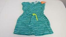 Gymboree Bright Ideas  Dress Teal Aqua Stripes  Size 4 5 6 7 NEW