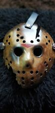 Friday the 13th  part 6 ( propeller damage)Jason custom made   Mask  horror