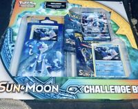 Pokemon Sun & Moon GX Challenge Box – Primarina – Sealed – NIB Pokemon TCG