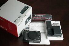 Canon EOS M6 24.2MP Mirrorless Digital Camera - Black (Body Only)