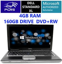 "DELL 15.4"" Latitude Laptop Intel Core 2.00GHz 4GB RAM 160GB HDD DVDRW Windows 10"