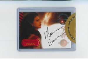 Morena Baccarin SEALED Autograph Serenity Auto MARVEL DEADPOOL Flash V Gotham