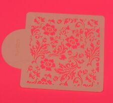 Torta Stampo X 1 CHIC ROSA MINI STAMPA Quadrato stampo Decorazione Dolci UK