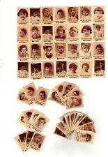 Lotto di oltre 70 figurine anni '10/20 Pastina Glutinata BUITONI