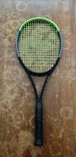 "Wilson Blade 98 18x20 v7 Tennis Racquet ~ Strung ~ 4-3/8"" Grip ~ Lightly Used"