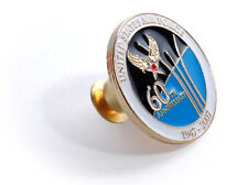 U.S. Air Force 60th Anniversary - USAF Brass Lapel Pin