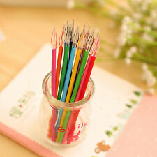 Random 12pcs/set Diamond Head Gel Ink Pen Refills For Sketching Drawing Writing