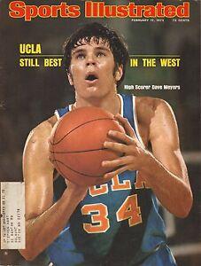 Dave Meyers--1975 Sports Illustrated Magazine--UCLA Bruins Basketball