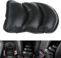 Armrest Pad Cover Cushion 27x20cm Black PU Soft Leather Car Auto Center Console