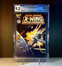 Star Wars: X-Wing Rogue Squadron #1/2  DarkHorse/Wizard CGC 9.2 NM-