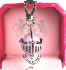 NWT JUICY COUTURE RARE MEDIEVAL KNIGHT'S HELMET CHARM Moving Shield Retired Hat