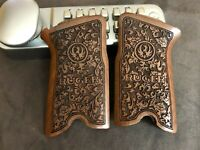 RUGER P85 P89 P90 P91 walnut wood grips