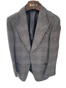 Tom Ford Grey Alpaca Wool & Silk Blend Jacket  UK36 / EU46- RRP £3,200