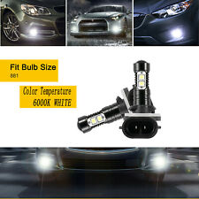 881 LED Headlight Kit Plug&Play 6000K for HYUNDAI Elantra GT 2013-2017 Fog Light