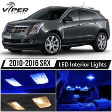 2010-2016 Cadillac SRX Blue LED Interior Lights Package Kit