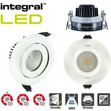 Integral LED Tiltable Spotlight  IP65 Fire Rated Dimmable Downlight  6W 4000K