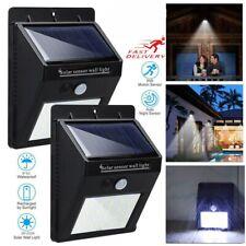 2Pack Solar Power Light Outdoor 20 LED Lamp PIR Motion Sensor Street Garden Deco