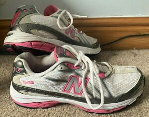 Womens Size 7 White & Pink New Balance 645 N-Fuse Running Shoes / Trainers *ZZ7
