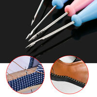 Supplies Hand Stitcher Taper Needle Shoes Repair Tool Leather Craft Sewing Awl
