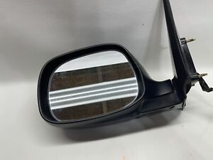 2001-2007 Toyota Sequoia left driver Side door mirror W/ Power Fold Heated Black