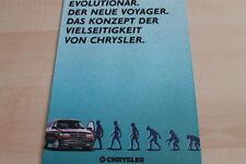 123570) Chrysler Voyager Prospekt 03/1991