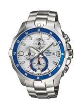 Casio Edifice reloj efm-502d -7 avef analógico plata