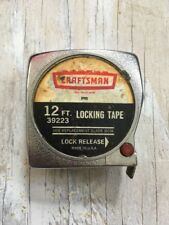 Vintage Tool! Craftsman Tape Measure 39224 12' Foot!