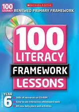 Year 6 (100 Literacy Framework Lessons), Hurn, Roger, Matthews, Gill, New Book