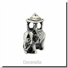 Authentic Trollbeads Sterling Silver 11505 Indian Elephant :0 RETIRED