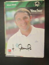 15164 Klaus Allofs DFB Nationalspieler original signierte Autogrammkarte