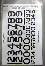 Arrow Graphics E-2-48 1/48 Royal Canadian Air Force & CAF Numbers Decal Sheet