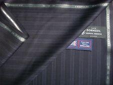 "DORMEUIL ""tropicali AMADEUS"" lana di lusso soddisfano tessuto - 3,4 M. - made in Inghilterra"