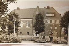 29154 Foto AK Ängelhom Stadsparken Statens Samrealsikola Stadtpark Schule um1939