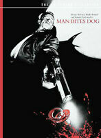 Man Bites Dog (DVD, 1992, The Criterion Collection)- Just Disc- Free Shipping
