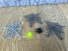 LEGO HARRY POTTER SPIDERMAN WEBS AND BLACK YELLOW SPIDER BUNDLE SPARES