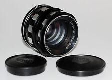 SCHACHT ULM Objektiv Lens TRAVENAR 2,8/90 R für M42
