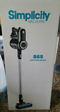 Simplicity Cordless Bagless Upright Stick Vacuum Model S65 (New In The Box)