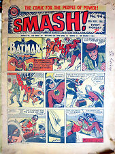 SMASH! No. 94 18th November 1967 - A Power Comic UK Batman Daredevil B&W GOOD