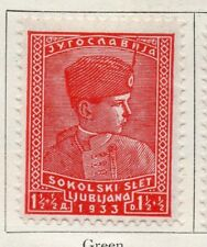 JUGOSLAVIA 1933 Early problema BELLE Nuovo di zecca Hinged 1.5d. 099385